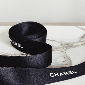 CHANEL RIBBON (BLACK)